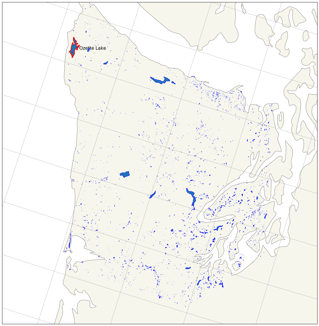 Geospatial Data Visualization: Plotting Actual Things: <code